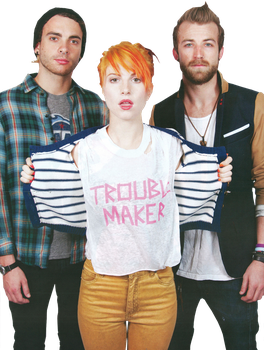 Paramore PNG 3 HQ by suree14