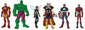 Avengers by CAPTAIN-AMAZING-17