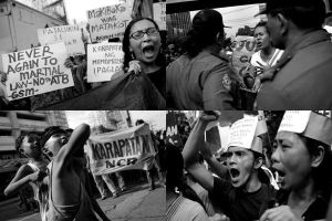 the protest are on by tallaxemia