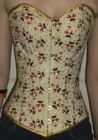 Christmas Corset 2013 Front by The-Mrs-Smith