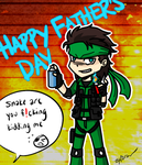 happy father's day by Zyfaran