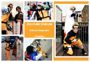 Uzumaki Naruto Cosplay by carrie-monster