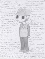 Supernatural - chibi Bobby+quotes by VampireFreakism