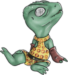 So I Made a Chibi Gorn by starluck