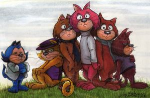 Top of the Cats by Phraggle