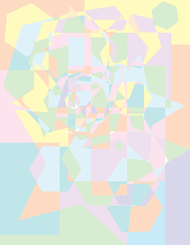 Pastel Cubism by angelicpity