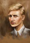 Aubrey, painty portrait by oingy-boingy