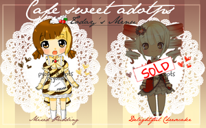 Cafe Sweets *Special* [OPEN][POINTS/PAYPAL] by Pyosu-adopts