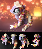 Pony Plush: Rapunzel by SnowFright