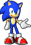 the real Sonic The Hedgehog by Banjo2015