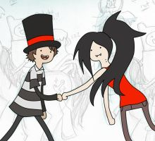Marcel and Marceline XD by lady-leliel
