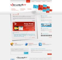 Web Design for IT Company by Areeb89