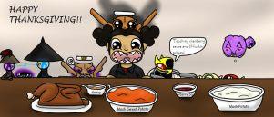 Happy Thanksgiving!! by TeamNinjaBug