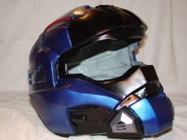 Halo Reach Carter helmet Wip by Hyperballistik