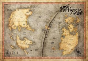 Espheria - Map by Onimetal