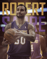 Robert Sacre by RafaelVicenteDesigns