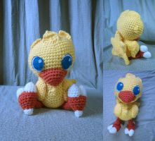 Amigurumi Chocobo by Oni4219