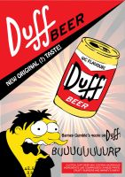 Duff wc flavour poster by dmavromatis