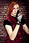 Resident Evil Claire Redfield Cosplay by CarlaGolbat