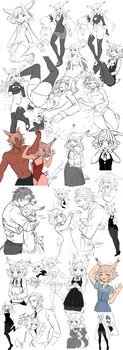 AW: sketchdump by noizi