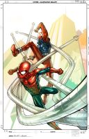 spiderman, the clone saga 4 by faroldjo