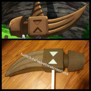 Diane's Hammer WIP 1 - Seven Deadly Sins Cosplay by VelvetRoseCreations