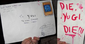 its hate mail from kaiba by slifertheskydragon