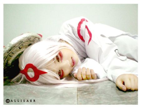 Okami cosplay Amaterasu by Allisaer