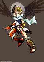 Pit - Kid Icarus Uprising by Novacevia