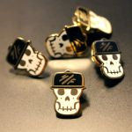SF Skully Bagger Pin by bagger043