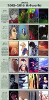 7 Years With Art by stjernDale