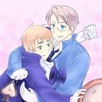 Pink, pink USUK cardverse by maybebaby83
