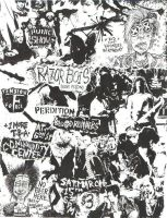 Punk Show Flyer by kamikuntzi