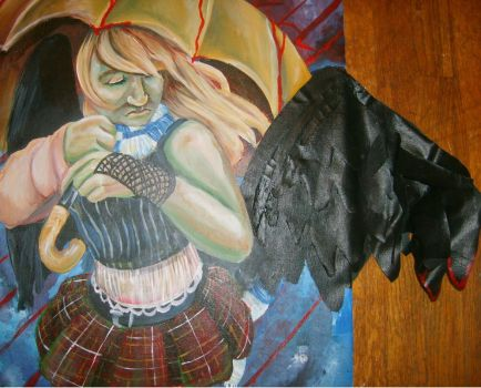 AP Art - Expressive self 2 by lunescence