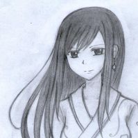 Erza Sketch by moon095