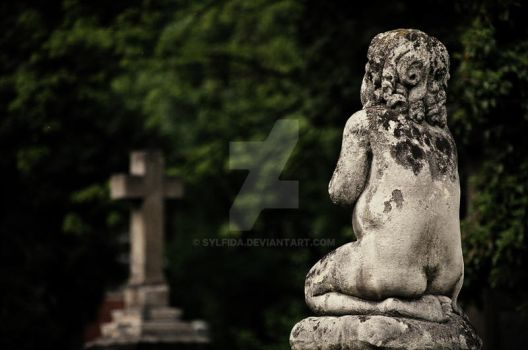Cementary Angel by Sylfida