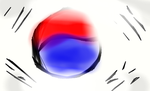 South Korean Flag by ToonPrincessZelda43