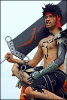 Jecht with grin - Cosplay - Final Fantasy Dissidia by Elffi