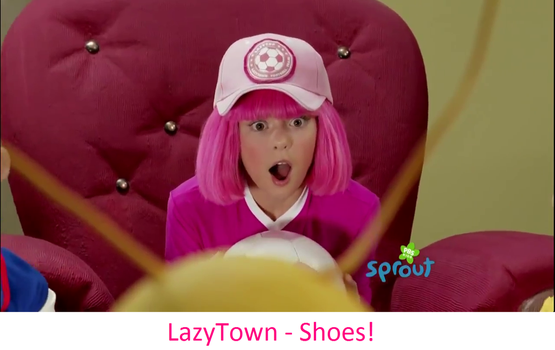 LazyTown - Shoes! by FrancisRG