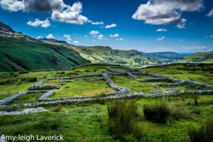 Roman fort, Hard knott pass. by Princess-Amy