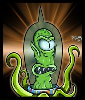 The Simpsons - Is it Kang...or Kodos by earthbaragon