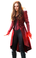 Civil War's Scarlet Witch - Transparent! by Camo-Flauge