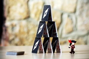 Pirate Storming House... of cards by FurLined