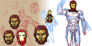 Iron Man Concepts by sunstarter