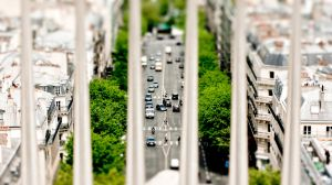 Miniature Paris from the Arc de Triomphe by ThanhDDanh