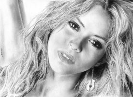 Shakira 4H HB 2B, 0.3 0.5 papier canson 90 g by MM-ARTDrawing