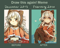 Oh yeah here's an improvement meme thing by chakupuchi