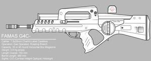 FAMAS G4C by sharp-n-pointy