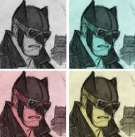 Batman Rockabilly Facebook FAN PAGE by DenisM79