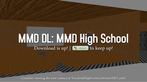 (DOWNLOAD UP!) MMD High School Stage V5.1! by VocaloidHighComic